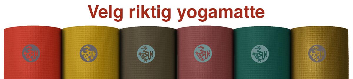 Velg riktig yogamatte