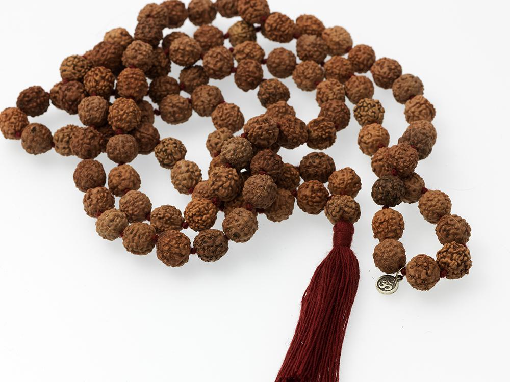 Mala Spirit Meditation Mala halskjede yogasmykke for meditasjon
