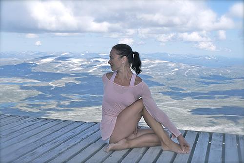 Marina Haugen yogaprofilen