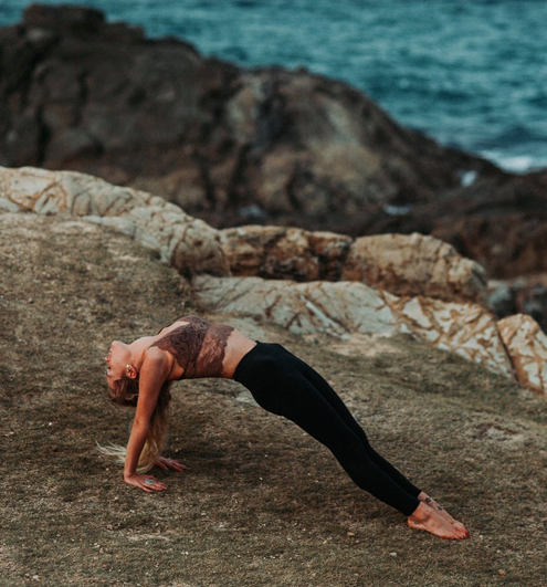 yogalærer Iselin Amanda Støylen