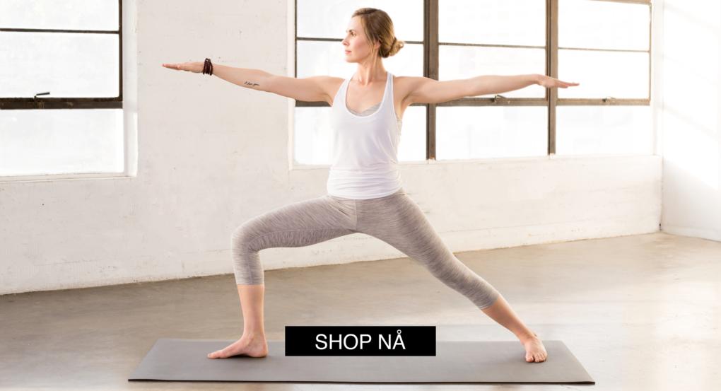 Landets største utvalg av yogamatter