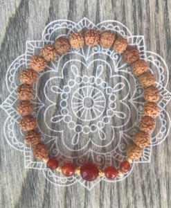 Lumi Spirit pray & love mala armbånd