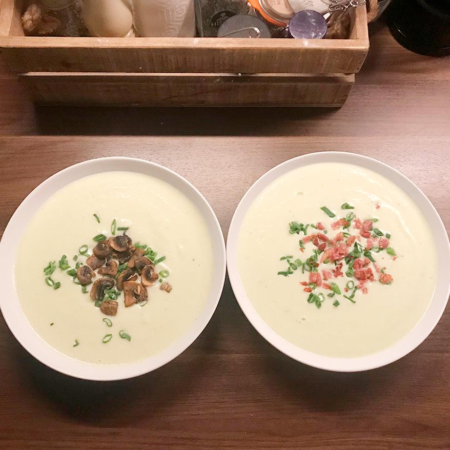 Kremet blomkålsuppe fra Elins kjøkken