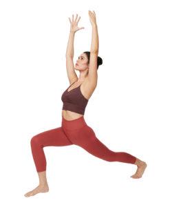 manduka cropped yoga legging terracotta