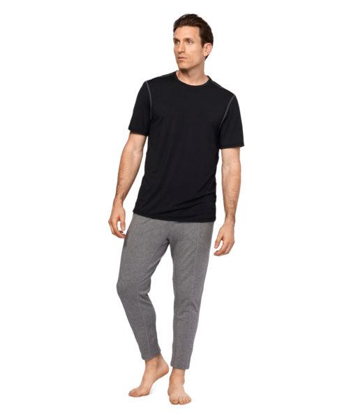 Manduka intentional pant light heather grey