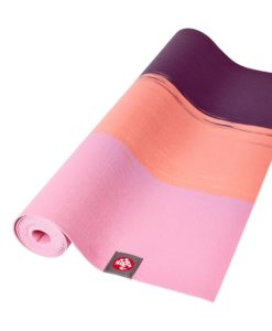 Manduka SuperLite Fuchsia Strip reiseyogamatte