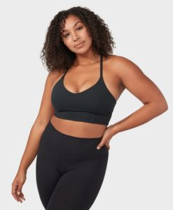 manduka essence bra black