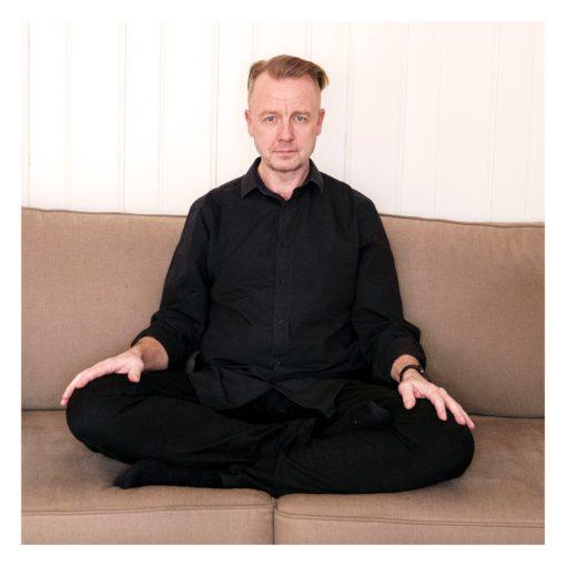 Meditasjonslærer Karl Henrik Lundh