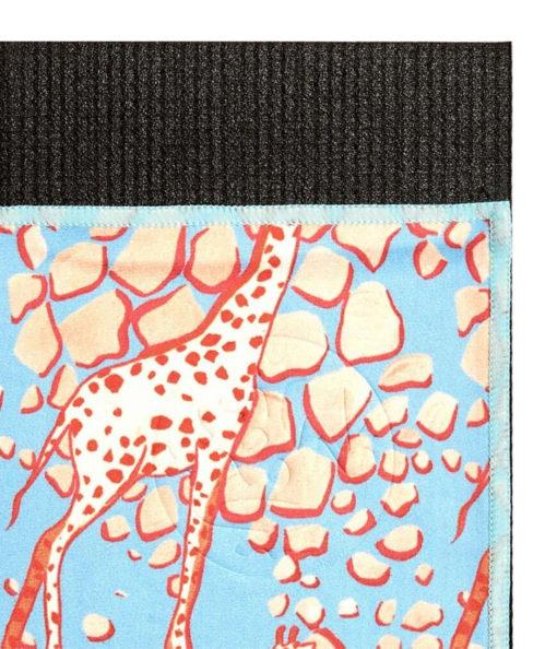 Mattehåndkle eQua Giraffe Blue