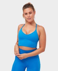 Manduka Essence Bra Be Bold Blue yoga-bh