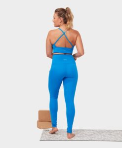 Manduka Essence Bra Be Bold Blue yoga-bh