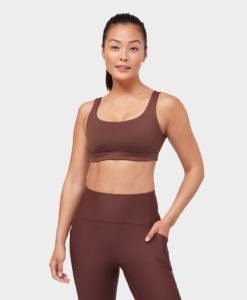 manduka presence bra deeply rooted brown yoga-bh