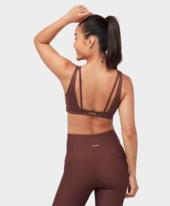 manduka presence bra deeply rooted brown yoga-bh