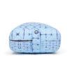 manduka rectangular bolster star dye clear blue