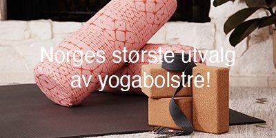 Norges største utvalg av yogabolsstre