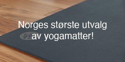 Norges største utvalg av miljøvennlige yogamatter